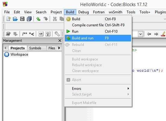 codeblocks starting to code kuppiya.lk 6.jpg